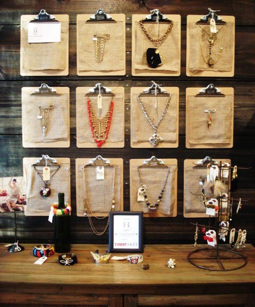 decorar con clipboards_collares