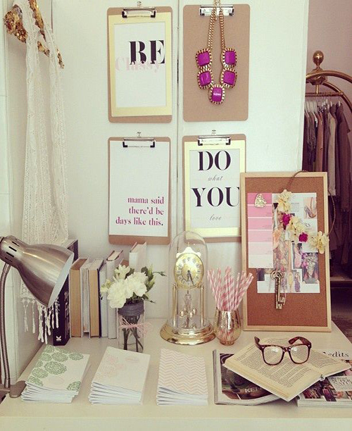 decorar con clipboards_frases